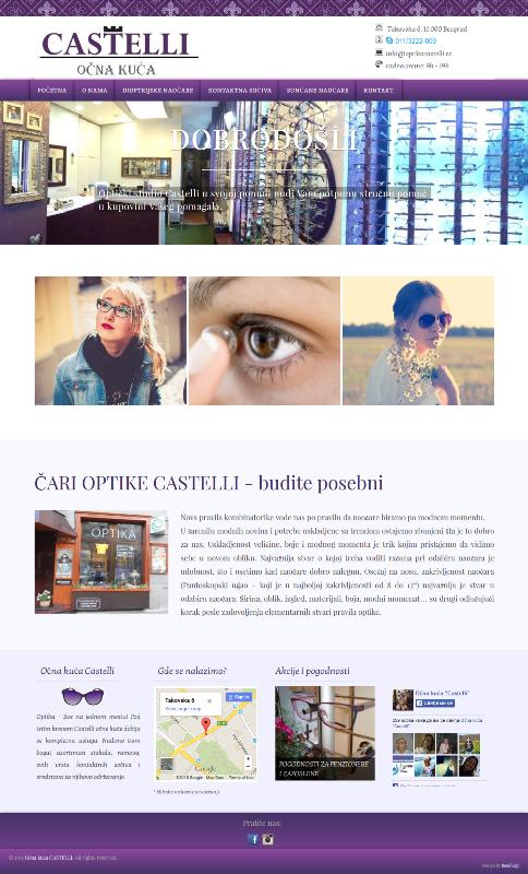 Očna kuća Castelli