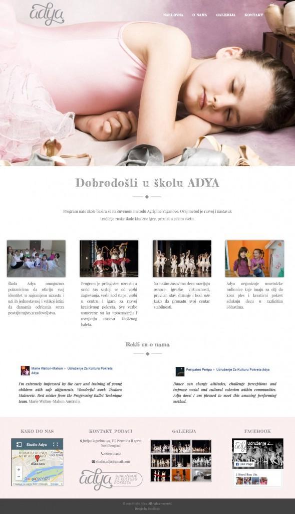 Škola baleta Adya