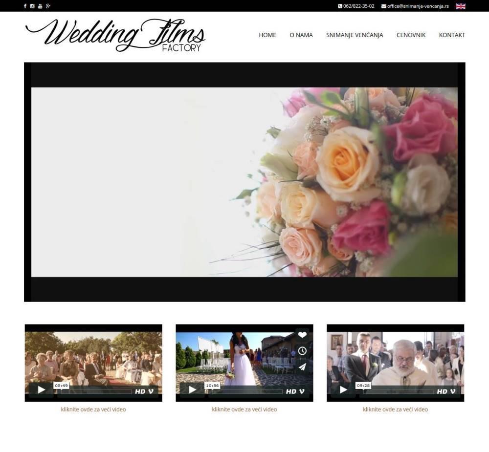 Snimanje venčanja